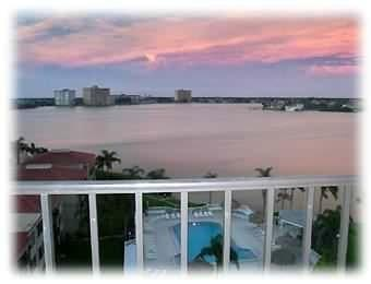 Your view of Boca Ciega Bay - Waterfront Isla Del Sol - Beautiful view!! - Saint Petersburg - rentals