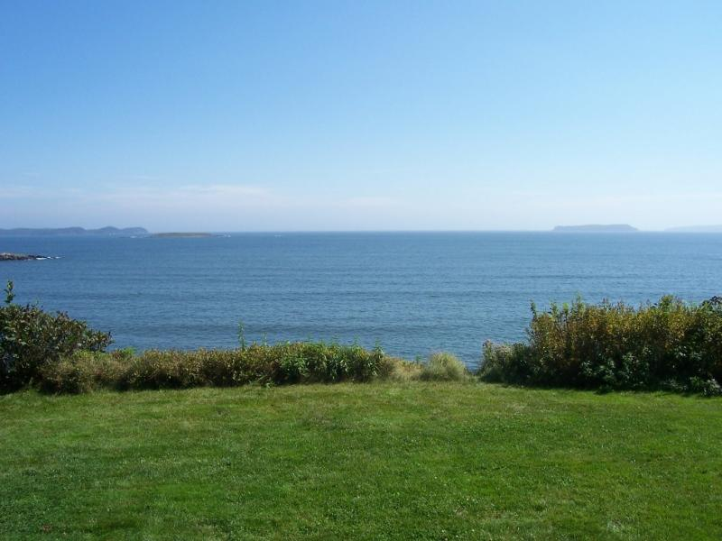 view from cottage - Oceanfront Cottage with Spectacular Views - Jonesport - rentals