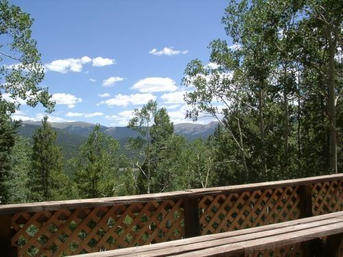 View from the deck - Santiago Basin Cabin - Pitkin - Pitkin - rentals