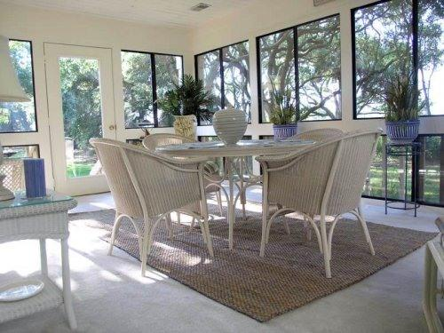Sunroom - Near Beach Villa with Great Golf Course View - Seabrook Island - rentals