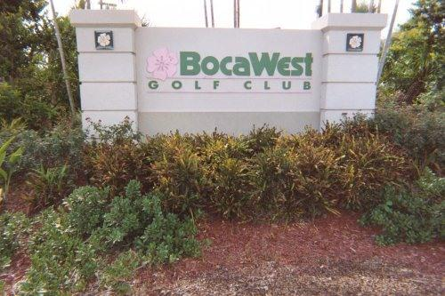 Welcome to Boca West Country Club! - Boca West with golf course view in Palm Beach , FL - Boca Raton - rentals