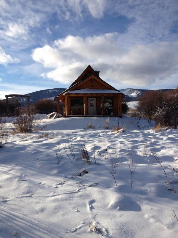 cabin with addition winter - Cabin in the Pioneer Mountains - Polaris - rentals
