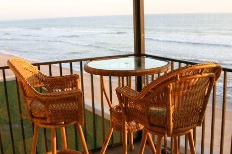 The view from our balcony - Luxury 2BR/2BA Direct Oceanfront Condo! - Satellite Beach - rentals