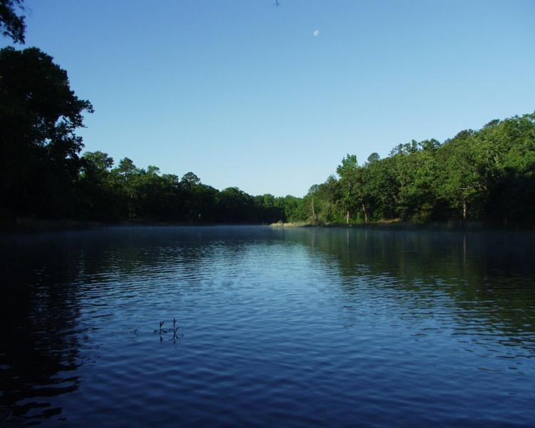 Miller Lake a natural oxbow lake in S.E. Oklahoma. Romantic, private, beautiful! - Miller Lake Retreat, a very private getaway - Antlers - rentals