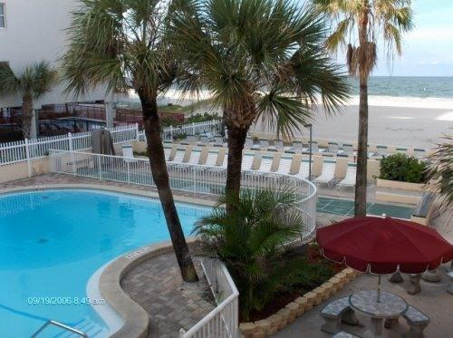Beach/Pool/Patio Area - Surf Song Resort 2BR,2BA Open Next: May 27-Jun 10 - Madeira Beach - rentals