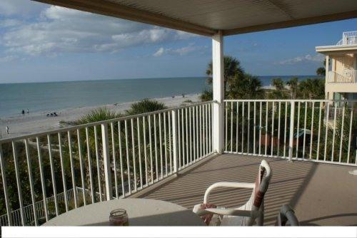 balcony - New Luxury Gulf Front Condos Oceanside & Oceanway - Indian Rocks Beach - rentals