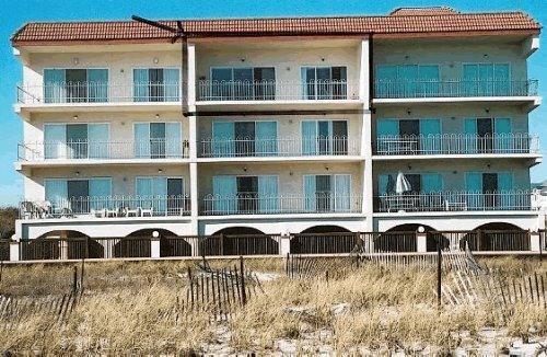 La Quinta Place is the top, middle condo - 3 Bed - 2 Bath BEACHFRONT condo, nature sanctuary - Diamond Beach - rentals