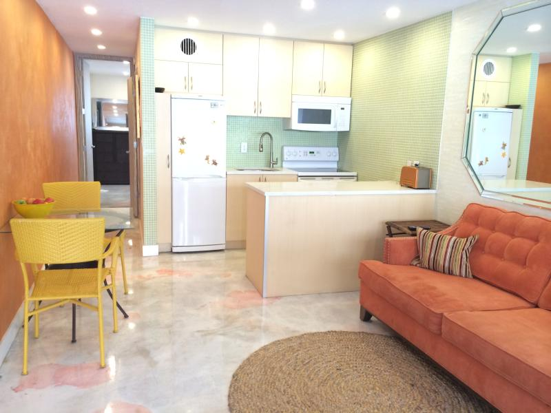Modern & Thrifty collide in our family's detail-centric beach condo. Wanna stay? - 50 Steps to Sand! Sunset Beach-Gulf View & Pool! - Treasure Island - rentals