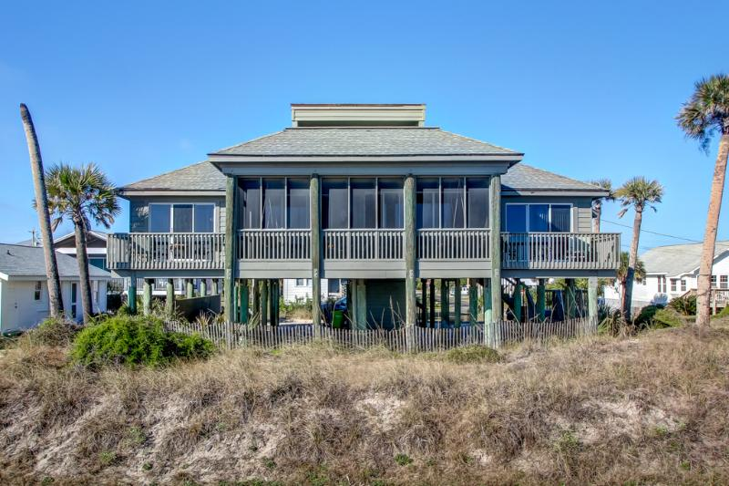 view from beach - Crump SandCastle - Fernandina Beach - rentals