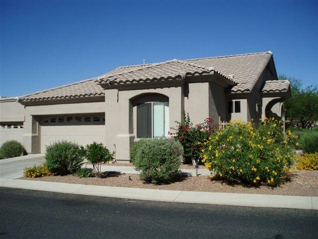 Front of House - Awesome Sunny Snow-free Rancho Vistoso - Oro Valley - rentals