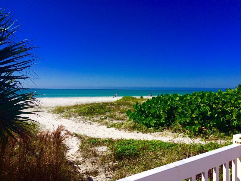 "Beach view/ poolside - ""Shore to Please"" w/ 30'  balcony Gulf view!  WiFi - Redington Shores - rentals"