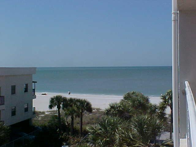 View from our balcony - Madeira Norte - Across from John's Pass Village - Madeira Beach - rentals