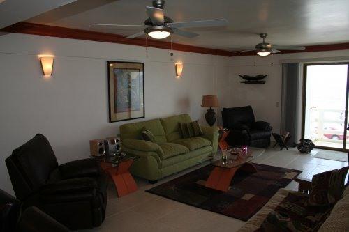Living Room - Deluxe Beachside Condo - Mazatlan - rentals