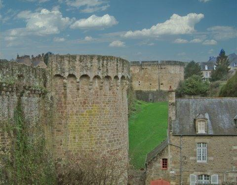 Your view from Villa des Remparts - Villa in Dinan with spectacular views - Dinan - rentals