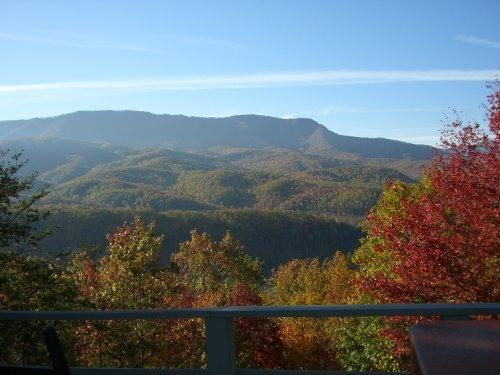 "What a View from Southern Serenity - ""Southern Serenity"" Gatlinburg luxury cabin rental - Gatlinburg - rentals"