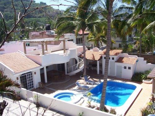Pacific Oceanfront Private Villa Pool Jacuzzi WiFi - Image 1 - Los Ayala - rentals