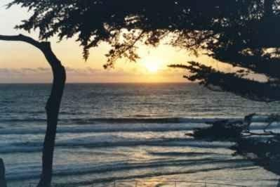Sunset from the balcony! - Carmel Beach House - Carmel - rentals