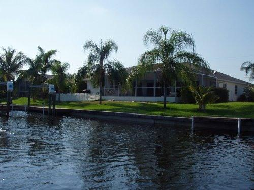 Rear View - Coral Point on Florida's Cape - Cape Coral - rentals