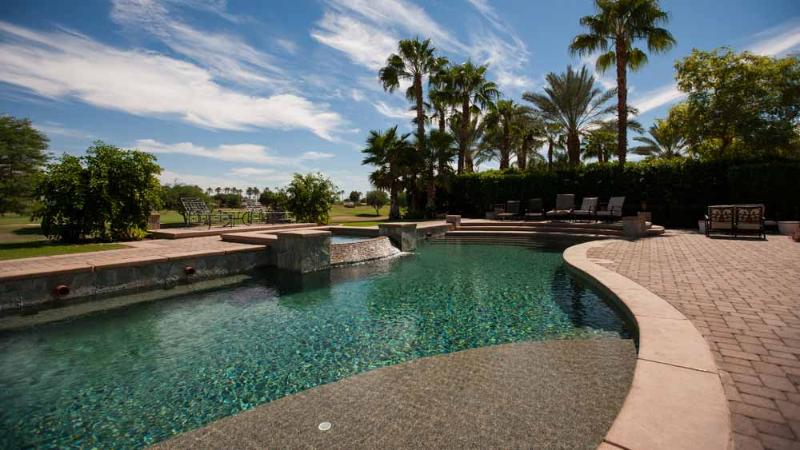 Gorgeous Estate on golf course with Amazing Pool! - Image 1 - La Quinta - rentals