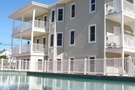 Our pool is large enough to swim laps in or just relax! Steps away from BBQ area - Perfect Vacation 2 - 3 Bedrm Condos w/Large Pool! - Wildwood Crest - rentals