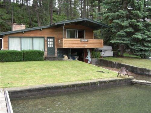 Front of Home - Lake Property with Mountain View - Pablo - rentals