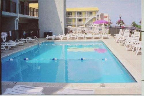 Olympic Gardens Oceanfront Condo with heated pool - Image 1 - North Wildwood - rentals