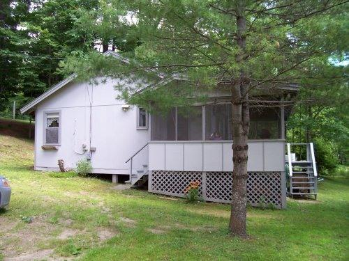 Camp from side - Lakefront vacation cottage, Readfield, Maine - Readfield - rentals