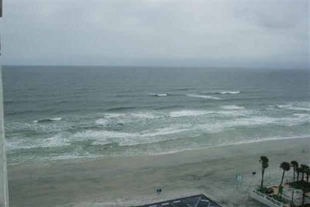 View from condo - Beachfront Condo in Daytona Beach, 1 BR 1bath - Daytona Beach - rentals