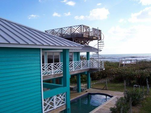 Oceanfront behind home - OCEANFRONT Home surrounded by Water and Beach - Sebastian - rentals