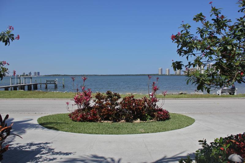 View from front doors... - Stunning Water Views w/Private Pool - West Palm Beach - rentals