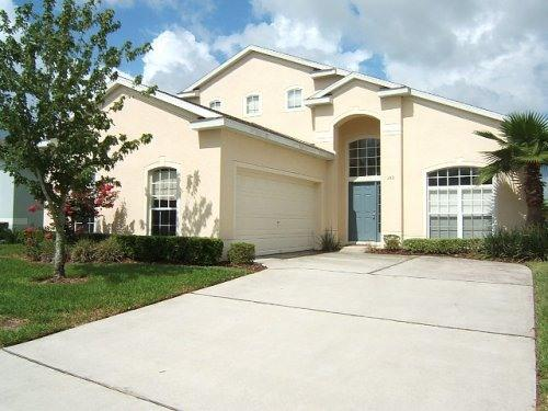 villa front - 5/4 (3 enstes) villa pool TV WiFi game near Disney - Davenport - rentals