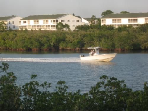 View from units balcony - Waterfront Townhome - Indian Shores - rentals
