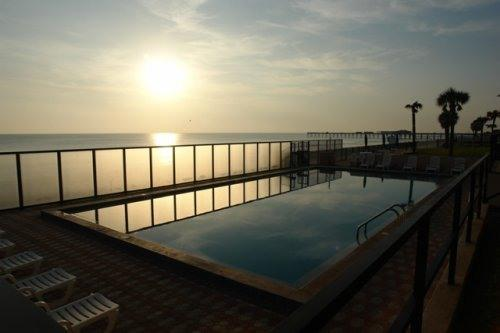 Sunrise View over Pool and Beach - Oceanfront Beauty - Daytona Beach Shores - rentals