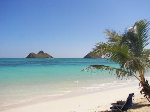 relax on the beach - Hawaii, Oahu, Honolulu - on Beautiful Kailua Beach - Kailua - rentals