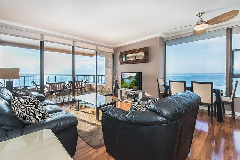 Absolutely Oceanfront - Fabulous Views - Upgraded - Penthouse Corner- Absolutely Oceanfront -  199 - Lahaina - rentals