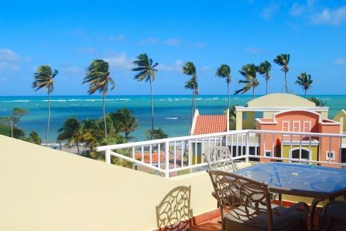 Private Roof Top Terrace View - True Beachfront Penthouse with Ocean Surf Sounds - Loiza - rentals