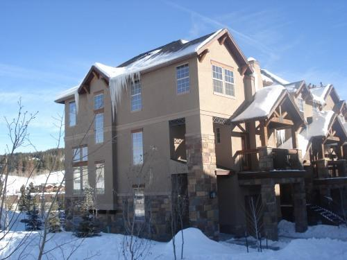 Exterior View of our End Unit - Huge, Luxury Townhome in Town - Hot Tub! - Winter Park - rentals