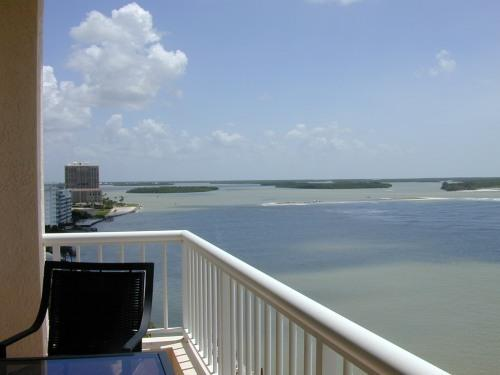 Southeast view from Lanai - Condo   Cape Marco - Marco Island - rentals