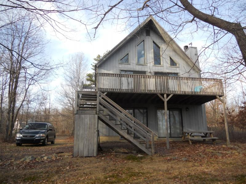 Front View of House - Immaculate Pocono Duplex Chalet - Blakeslee - rentals