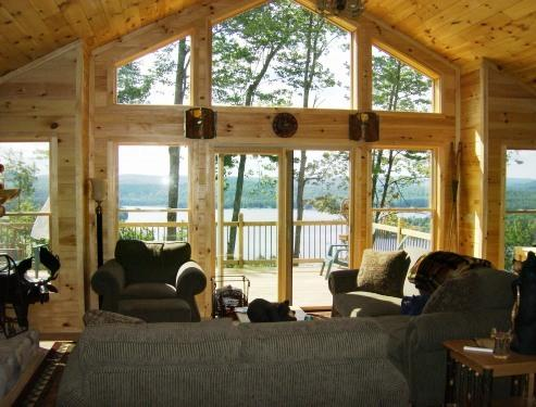 Adirondack Great Room - Adirondack Vacation Rental with Spectacular Views - Old Forge - rentals