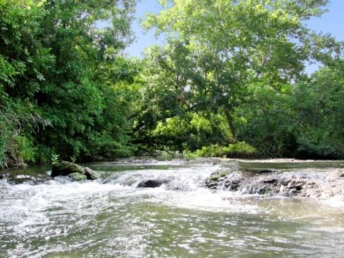 Come enjoy the spring-fed waters of Sulfur Creek. - M&M Creekside- Texas Hill Country Vacation Rentals - Lampasas - rentals