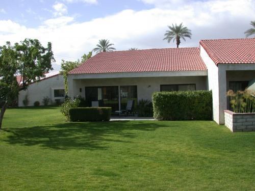 Rear patio - Sunny Palm Desert - Palm Desert - rentals