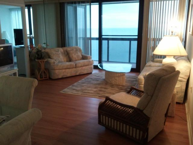 New Living Room - Premier Direct Ocean Front Resort! - Ocean City - rentals