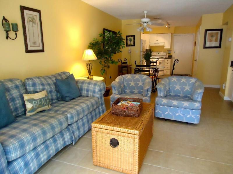 Inviting View of Condo - Affordable, 1st Floor Villa, Just Steps From Beach - Hilton Head - rentals