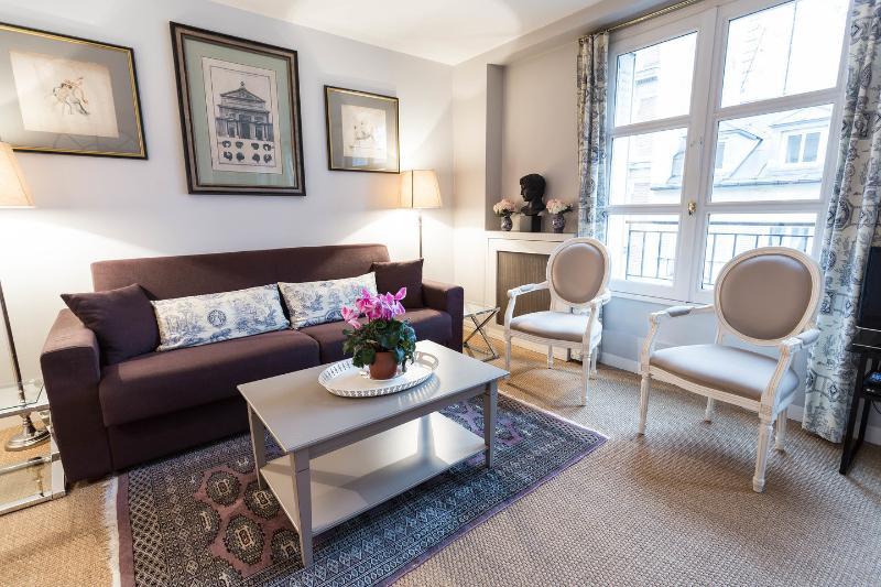 Living Room - Eiffel Invalides - New & elegant - Eiffel view - Paris - rentals