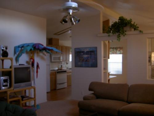 Family room area - Snow Birds! Willow Valley house close to golfing! - Mohave Valley - rentals