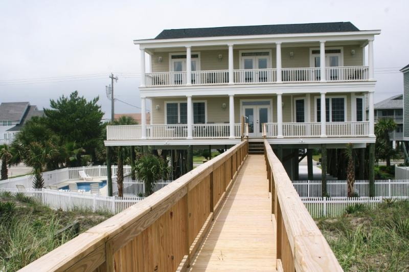 Beachside View - Oceanfront  7 BR w/  Pool, Hot Tub & Elevator - Murrells Inlet - rentals