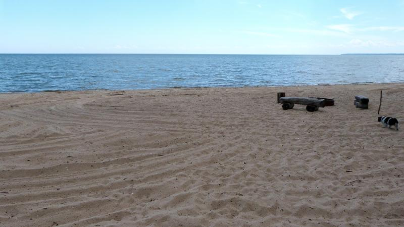 Private beach on Lake Huron! - Newly Remodeled Beachfront Home! - Au Gres - rentals