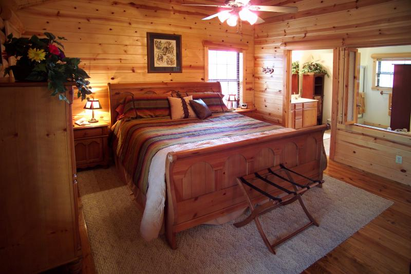 Luxury 1BR/BA Luxury Cabin: Perfect Spot to Enjoy! - Image 1 - Branson - rentals