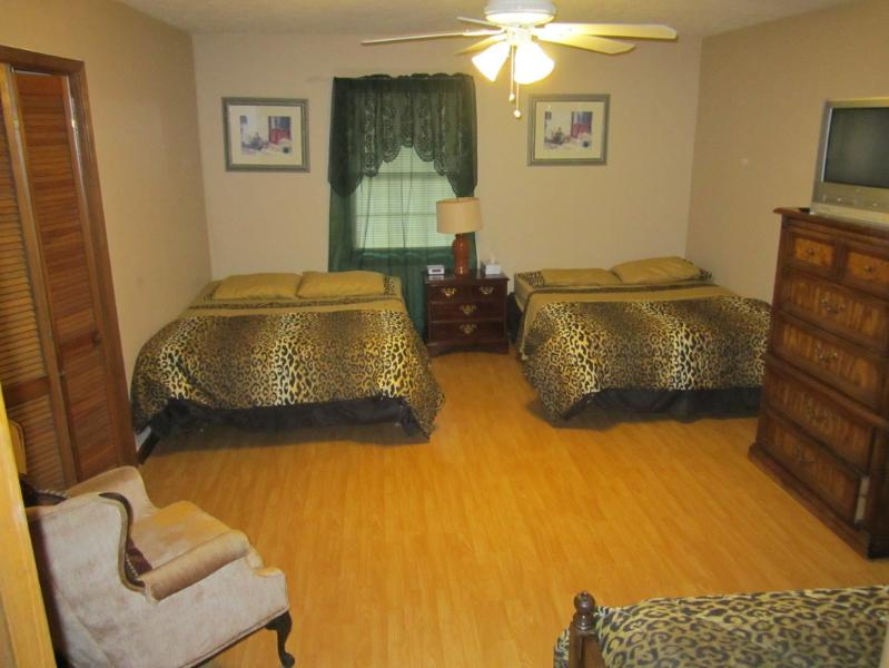 Master Bedroom: 2queen & 1twinn size bed, Cable TV - Perfect for Large families,WI-FI,7 TVs,BBQ,I-85 - Duluth - rentals